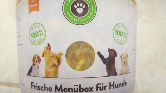 Die frischen Menüboxen für Hunde sind ein Einstieg in die Rohfütterung.